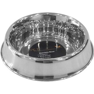 Pet Nautic Anti-Ant Anti-Skid Dog Bowl 24Oz-Stainless Steel