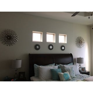 Stratton Home Decor Bronze Acrylic Burst Wall Decor Free
