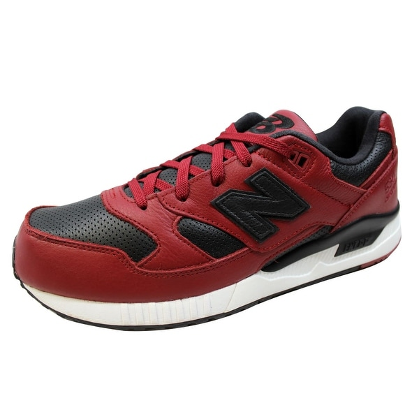 New Balance Men's 530 Lux Leather Red/Black M530VTB