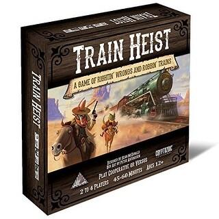Cryptozoic Entertainment Train Heist Board Game