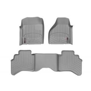 WeatherTech Buick LaCrosse 2010-2013 Grey Front & Rear Floor Mats FloorLiner 469351 461442