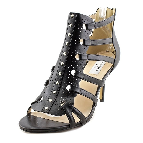 Chelsea & Zoe Panache Black Sandals