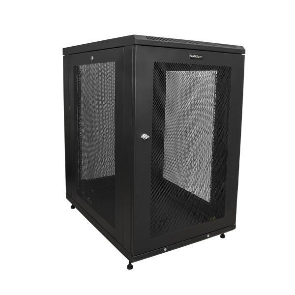 "Startech Rk1833bkm 31"" Deep Enclosure 18U Wall Mount Server Rack Cabinet"