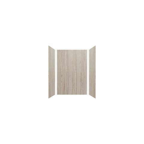 """Transolid Expressions 36-in X 48-in X 72-in Glue to Wall Shower Walls - 48"""" x 36"""" x 72"""""""