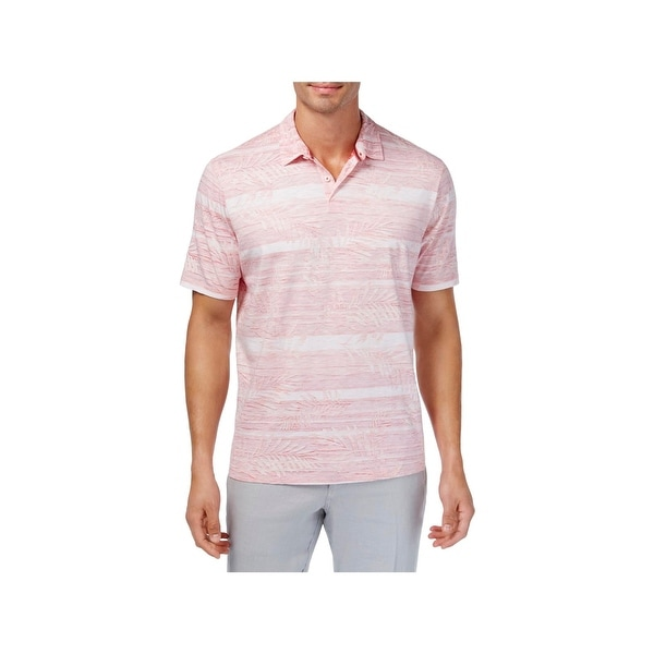 691374c6 Shop Tommy Bahama Mens Polo Shirt Striped 2 Button Placket - XXL - Free  Shipping On Orders Over $45 - Overstock - 22582148