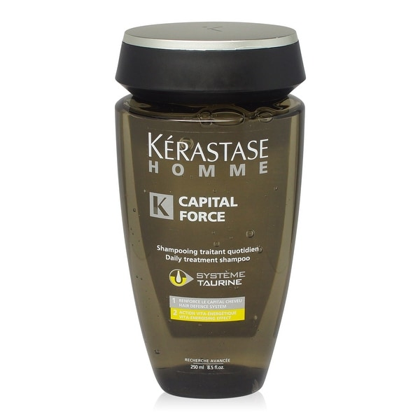 Kerastase Homme Capital Force Treatment Shampoo Vita Energising Effect 8.5 Oz