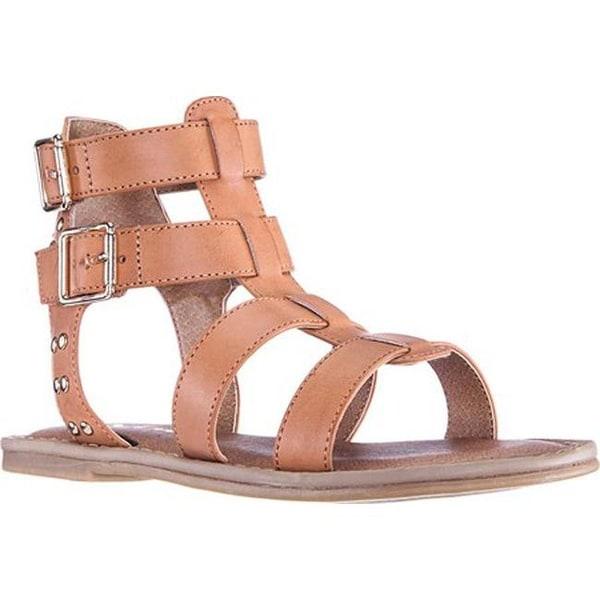 83f85e3e491 Shop Nina Girls  Brunilda Gladiator Sandal Tan Smooth Synthetic ...