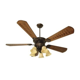 "Craftmade K10685 DC Epic 70"" 5 Blade DC Indoor Ceiling Fan - Blades, Remote and Light Kit Included"