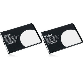 New Replacement Battery For Motorola BT50 Phone Models (2 Pack) 1 pack