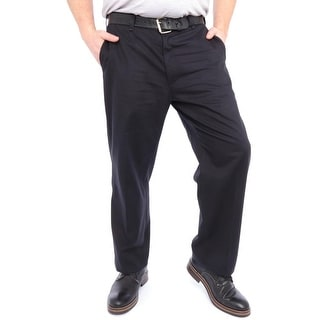 Lee Stain Resist Relaxed Fit Flat Front Pants Men Dress - Flat Front