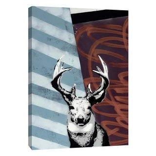 "PTM Images 9-105938  PTM Canvas Collection 10"" x 8"" - ""Deer II"" Giclee Deer Art Print on Canvas"