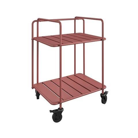 Novogratz Poolside Gossip Collection Penelope Outdoor/Indoor Cart