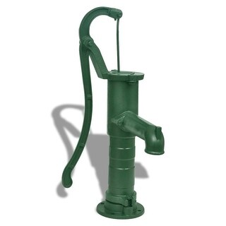 vidaXL Cast Iron Garden Hand Water Pump