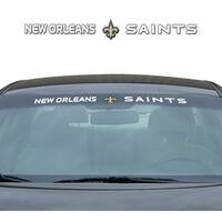 New Orleans Saints Decal 35x4 Windshield
