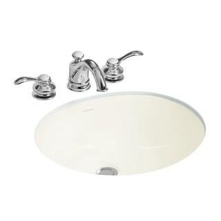 "Sterling 442040 Wescott 17"" Undermount Bathroom Sink And Overflow - N/A"