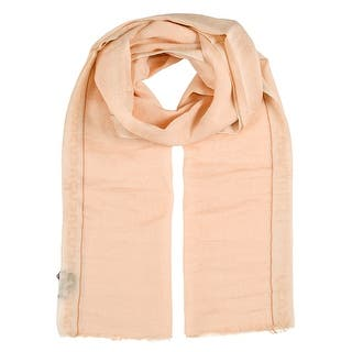 Gianfranco Ferre SCR92994/10 Peach Scarf - 28-74|https://ak1.ostkcdn.com/images/products/is/images/direct/a05554442c1447da90bf176bd6f9154b5e2624a3/Gianfranco-Ferre-SCR92994-10-Peach-Scarf.jpg?impolicy=medium