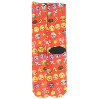 Onloyo Womens Emoji Fashion Casual Socks - o/s