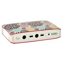 Halo Bolt 57720 - Rose Floral Portable Charger & Car Jump Starter w/LED Floodlight