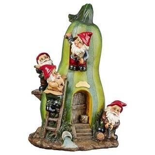 Design Toscano Gnome Garden Gourd Homestead Statue