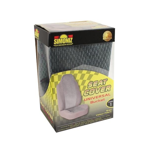 Simoniz Seat Cover Universal Bucket Gray