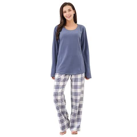 Richie House Women's Soft and Warm Fleece Two-Piece Set Size S-XL