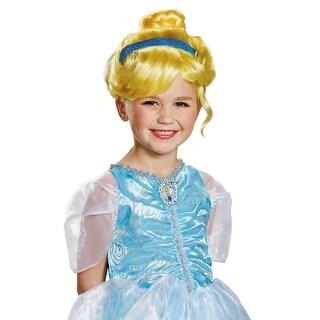 Disguise Cinderella Child Wig - Blonde
