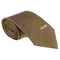 Missoni Interlock Woven Gold Woven 100% Silk Tie - 60-3