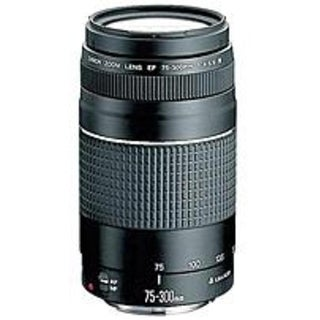 Canon 6473A003 EF 75-300mm f/4-5.6 III Lens Telephoto Zoom Lens (Refurbished)