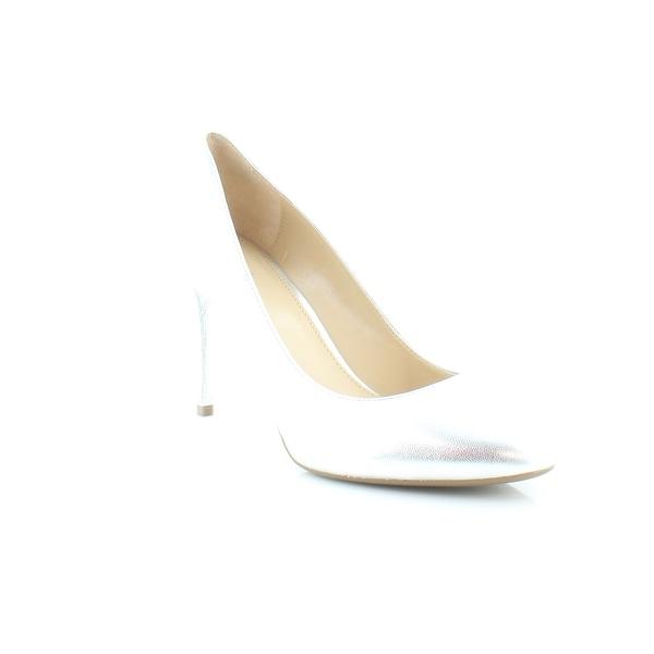 Michael Kors Ashby Flex Pumps Women's Heels Silver - 9.5