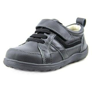 See Kai Run Anton Toddler Round Toe Leather Sneakers