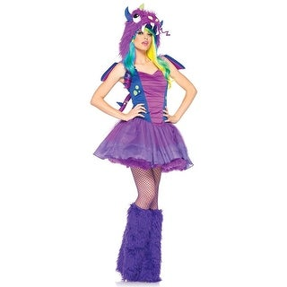 Darling Dragon Women's Costume - Purple