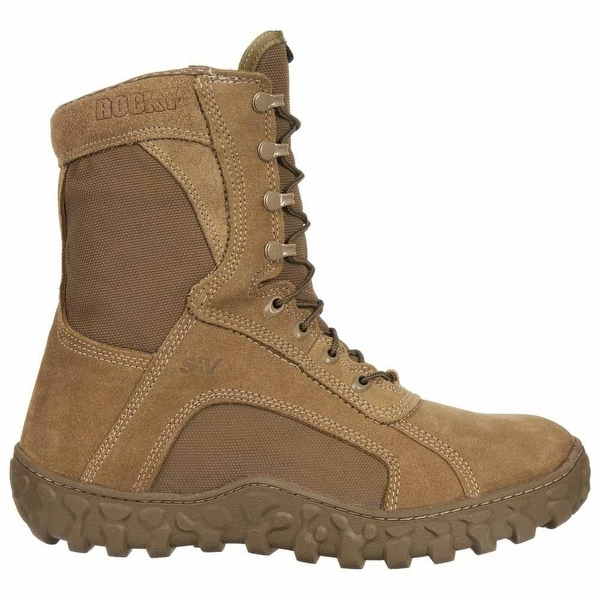 Rocky S2v 8 Inch Waterproof Tactical Mens Work Safety Shoes Casual. Opens flyout.