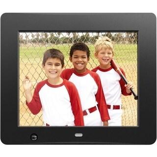 """Aluratek ADMSF108F Aluratek 8 inch Digital Photo Frame with Motion Sensor and 4GB Built-in Memory - 8"" LCD Digital Frame -"