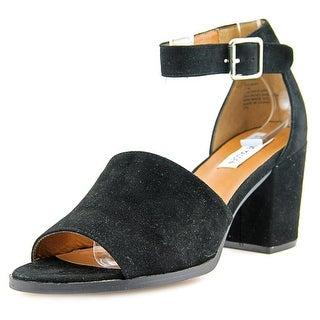 Steve Madden Salmah Open Toe Suede Sandals