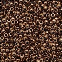 Toho Round Seed Beads 11/0 221 'Bronze' 8 Gram Tube
