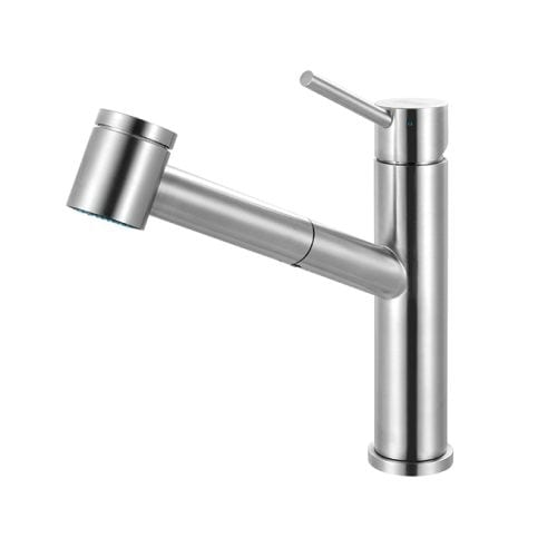 Franke FFPS34 Steel High-Arc Pullout Spray Bar Faucet