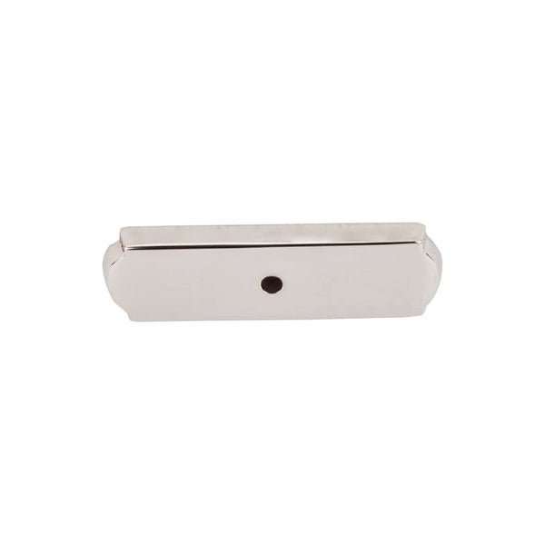 Top Knobs M2010 Aspen II Series 2-1/2 Inch Rectangle Cabinet Knob Backplate