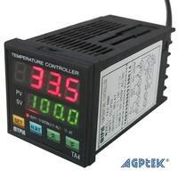 AGPtek Digital Dual Display PID Temperature Controller TA4-SNR+K thermocouple (Alarm Output)