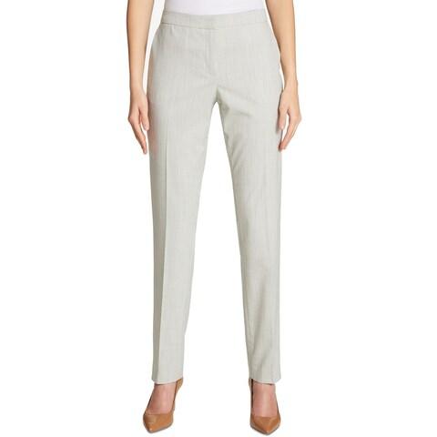 Tommy Hilfiger Women Slim Pinstriped Ankle Dress Pants