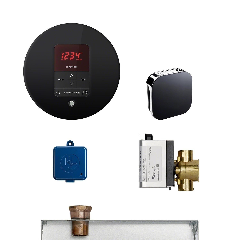 Mr Steam MSBUTLER1RD  Butler Steam Shower Package includes: (1) iTempoPlus Control (1) Steam Head (1) AutoFlush (1) Condensation (White)
