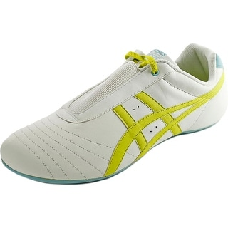Asics Gel-Ilyeo II Women  Round Toe Leather White Sneakers