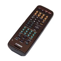 OEM Yamaha Remote Control Originally Shipped With: HTR5935, HTR-5935, YHT370, YHT-370, YHT370SL, YHT-370SL