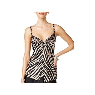 Miraclesuit Swimwear Womens Bust Support Printed Swim Top Separates (3 options available)
