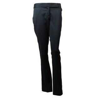 Laundry Women's Kiera Houndstooth Straight Leg Pants
