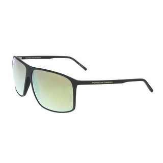 Porsche P8594-A Black Rectangle Sunglasses - 62-12-140