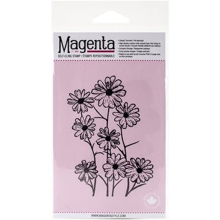 "Magenta Cling Stamps 4""X3""-Black Eyed Susan"