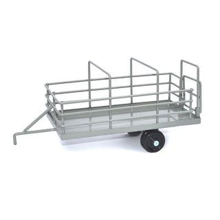 Little Buster Toy Heavy Duty Metal Cattle Trailer White 500229|https://ak1.ostkcdn.com/images/products/is/images/direct/a069f71c1b396a07706d13c0867ebac78e08fb8d/Little-Buster-Toy-Heavy-Duty-Metal-Cattle-Trailer-White-500229.jpg?impolicy=medium