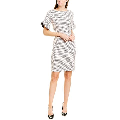 Karl Lagerfeld Polka Dot Shift Dress