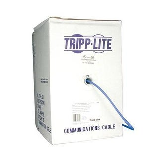 Tripp Lite - N222-01K-Bl - 1000' Cat 6 Pvc Cable Blue