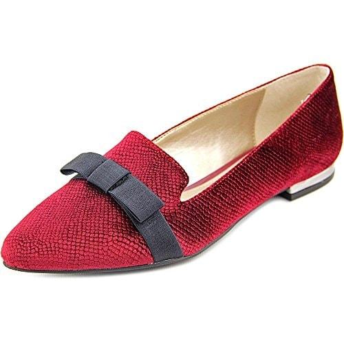 Alfani Womens Zurry Fabric Pointed Toe Casual Slide Sandals